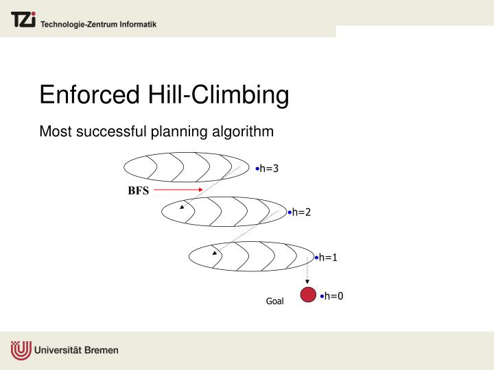 Enforced Hill-Climbing