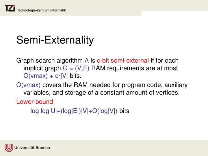 Semi-Externality