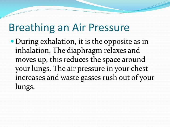 Breathing an Air Pressure