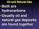 oil and natural gas1