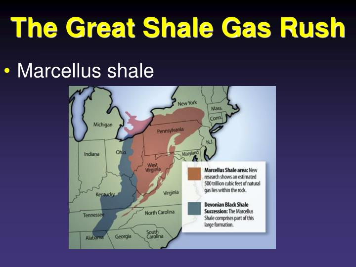 The Great Shale Gas Rush