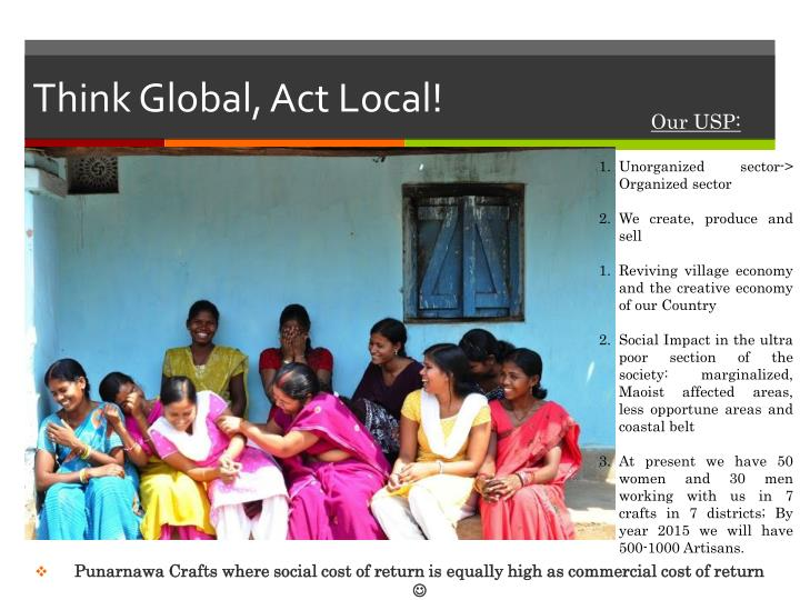 Think Global, Act Local!