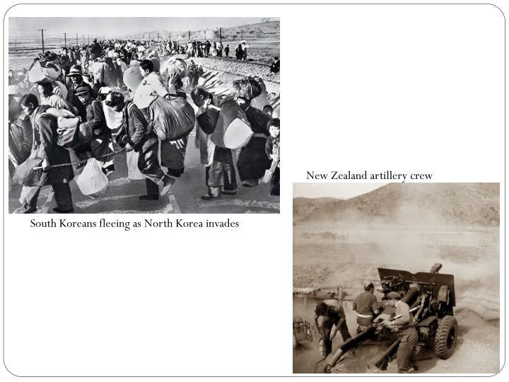 New Zealand artillery crew