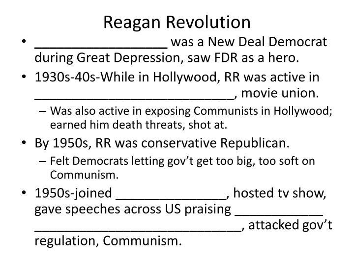 Reagan Revolution