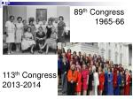 89 th congress 1965 66