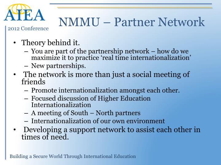 NMMU – Partner Network