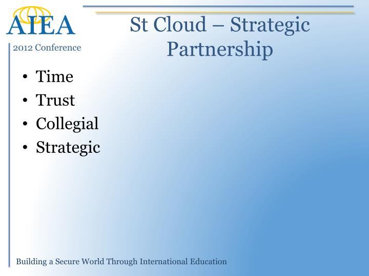 St Cloud – Strategic Partnership