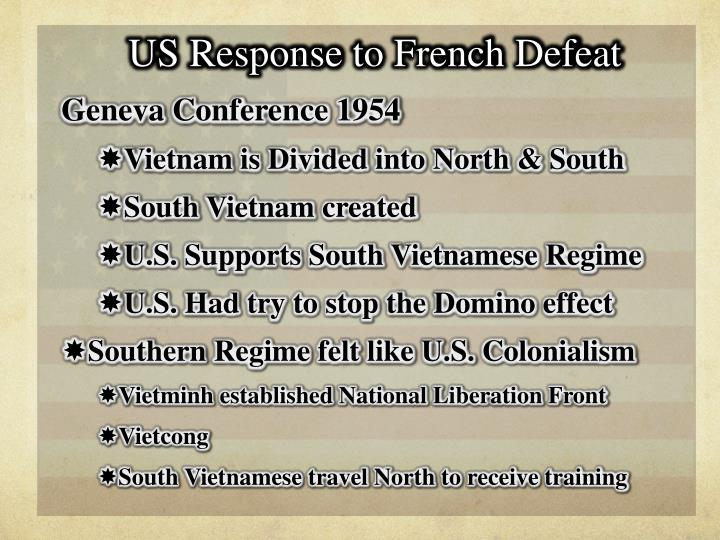 US Response to French Defeat
