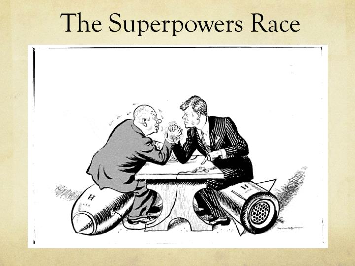 The Superpowers Race