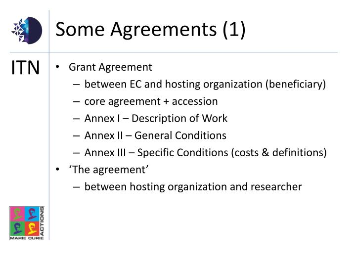 Some Agreements (1)