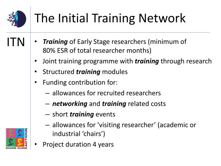 The Initial Training Network