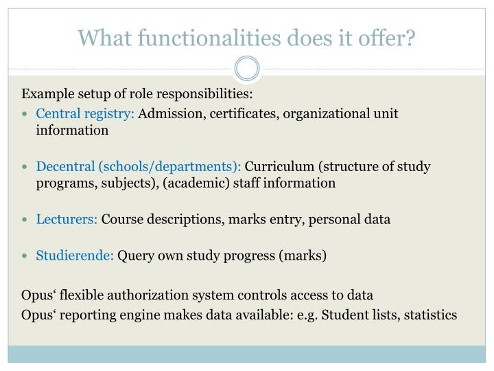 What functionalities does it offer