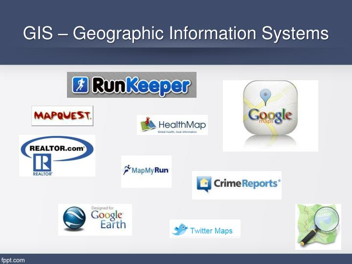 GIS – Geographic Information Systems