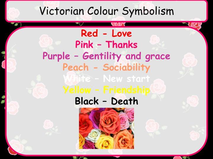 Victorian Colour Symbolism