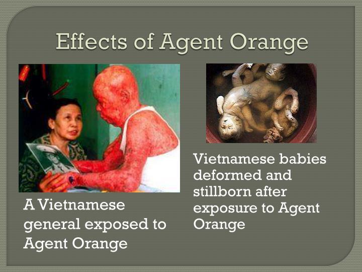 Effects of Agent Orange