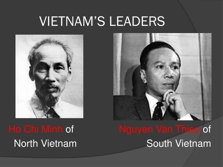 VIETNAM'S LEADERS