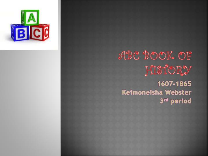 abc book of history
