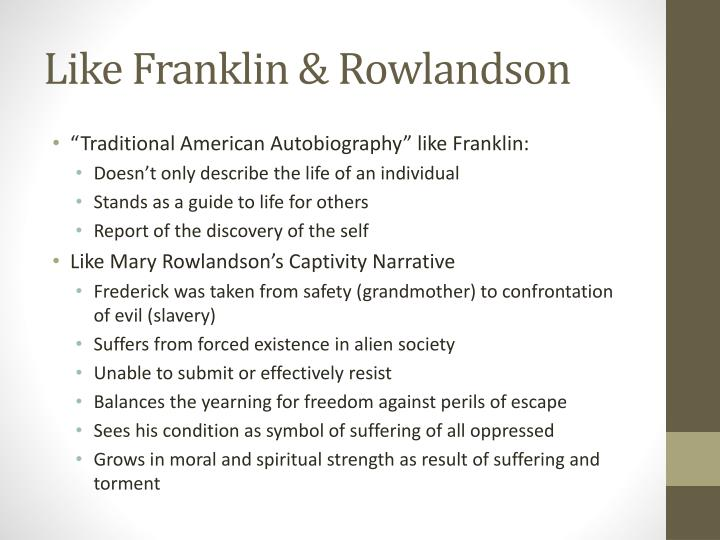 Like Franklin & Rowlandson