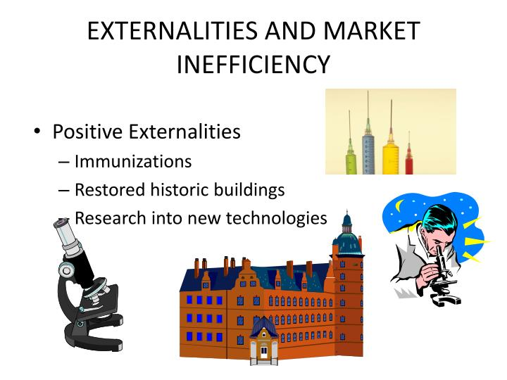 EXTERNALITIES AND MARKET INEFFICIENCY
