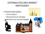 externalities and market inefficiency1