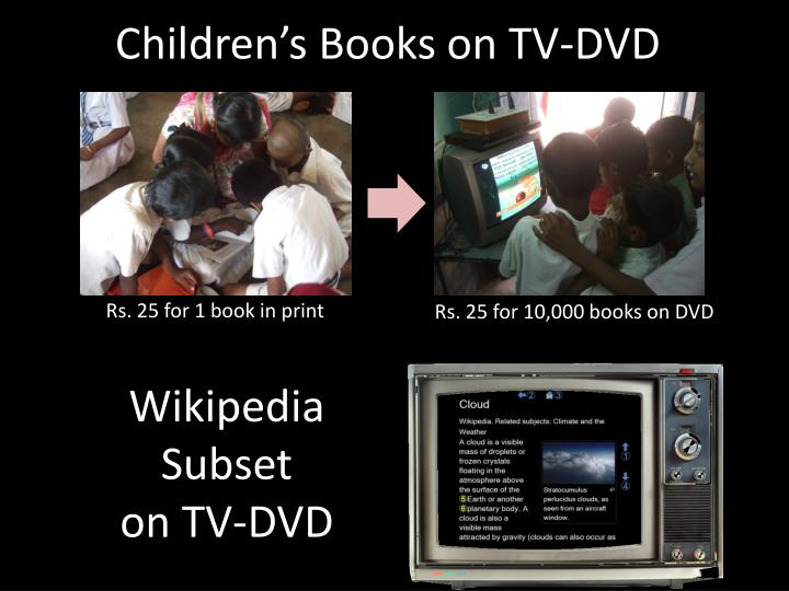 Children's Books on TV-DVD