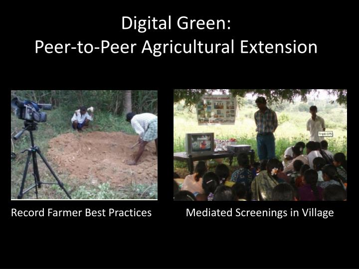 Digital Green: