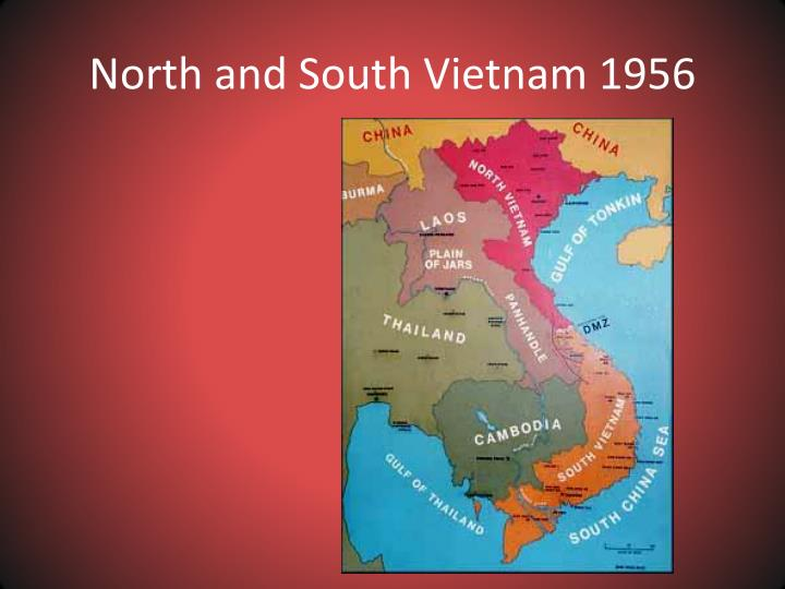 North and south vietnam 1956