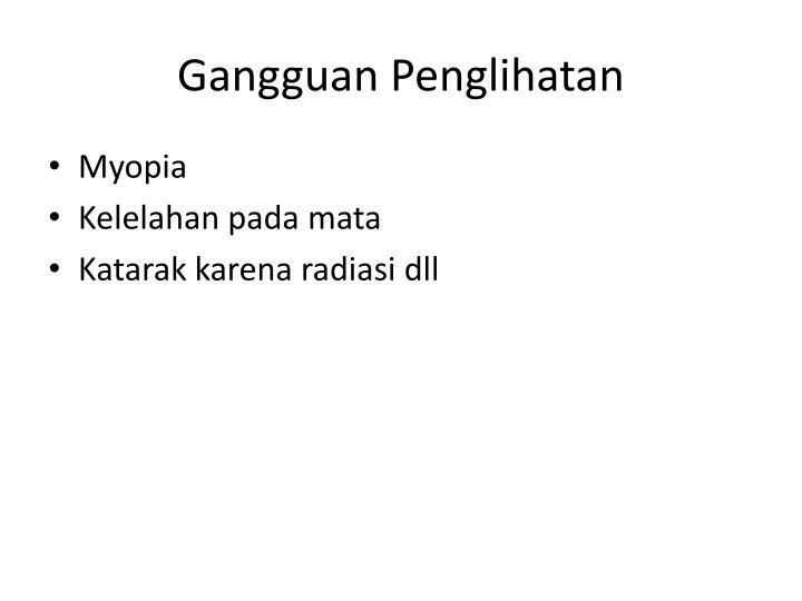 Gangguan