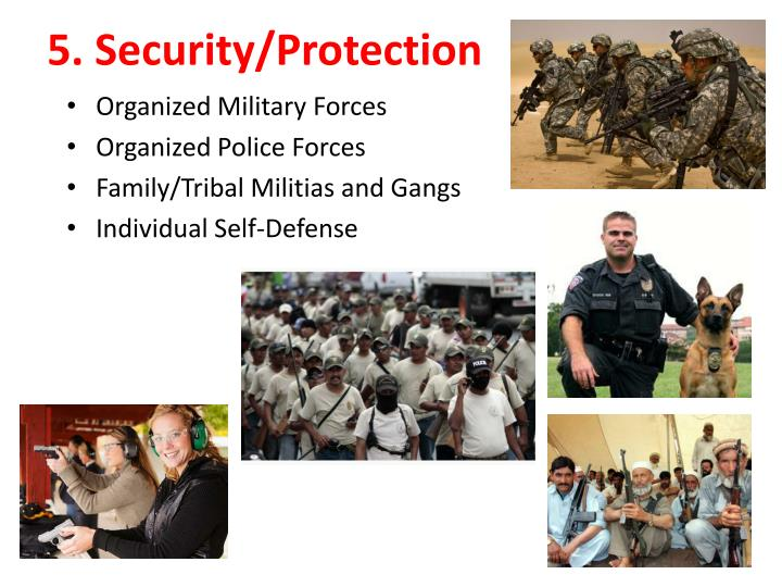 5. Security/Protection