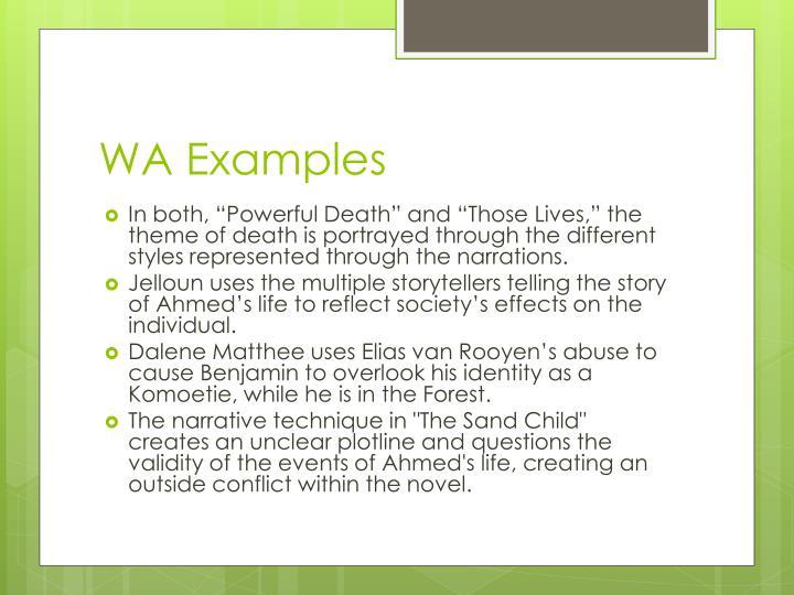 WA Examples