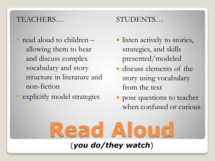 TEACHERS…