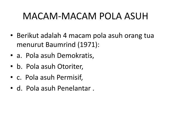 MACAM-MACAM POLA ASUH