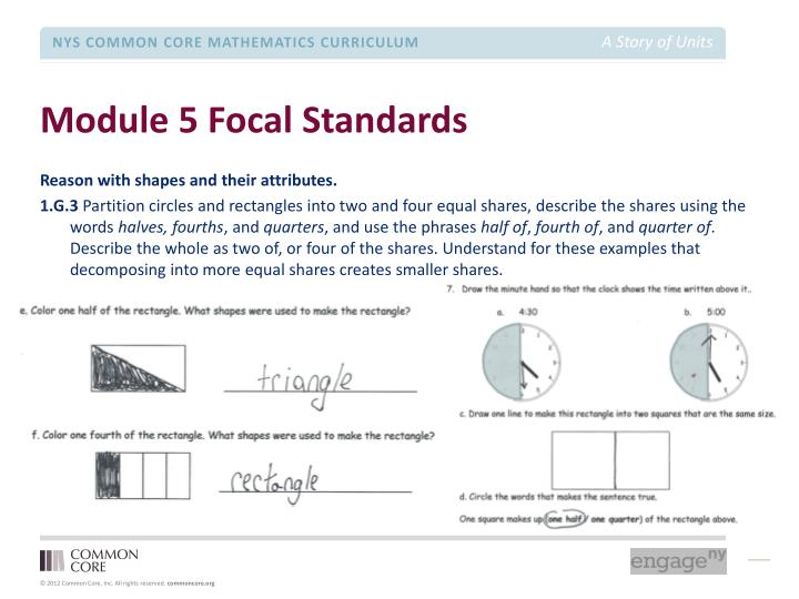 Module 5 Focal Standards