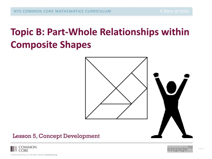 Topic B: Part-Whole Relationships within Composite Shapes
