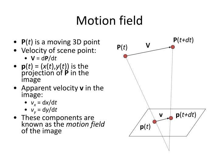 Motion field