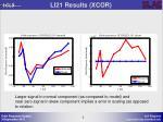 li21 results xcor
