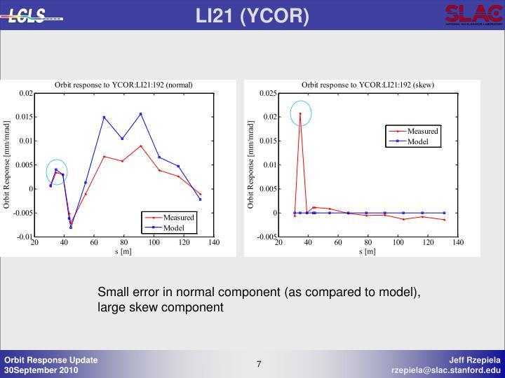 LI21 (YCOR)