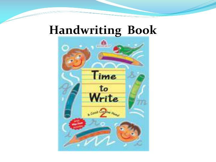 Handwriting  Book