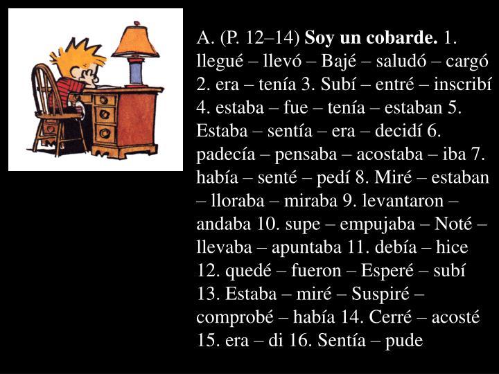 A. (P. 12–14)