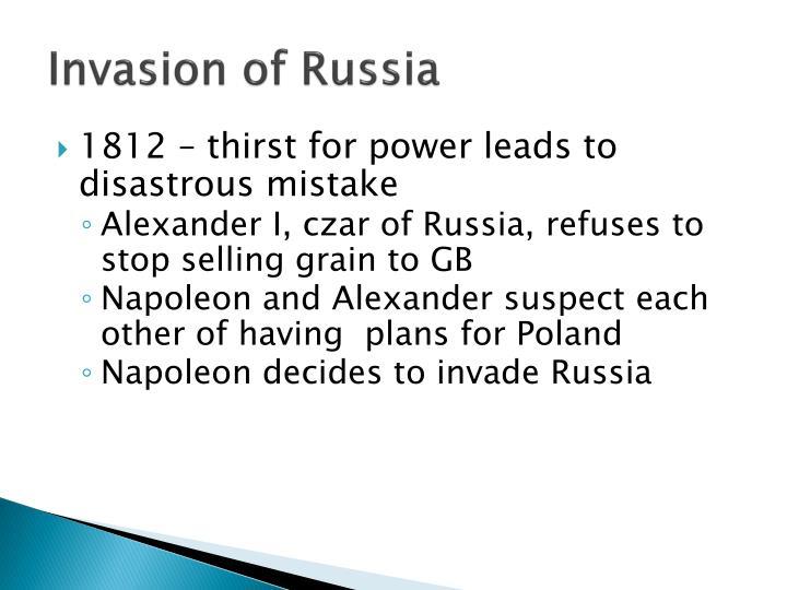 Invasion of Russia