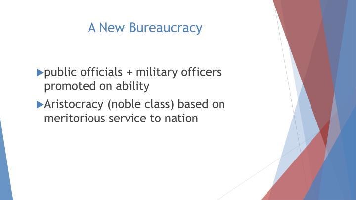 A New Bureaucracy
