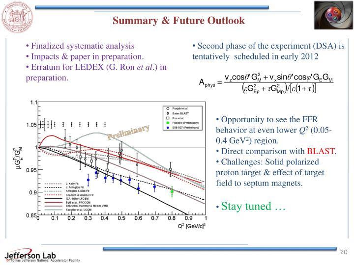 Summary & Future