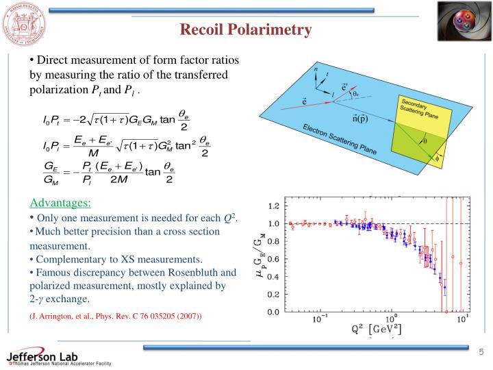 Recoil Polarimetry