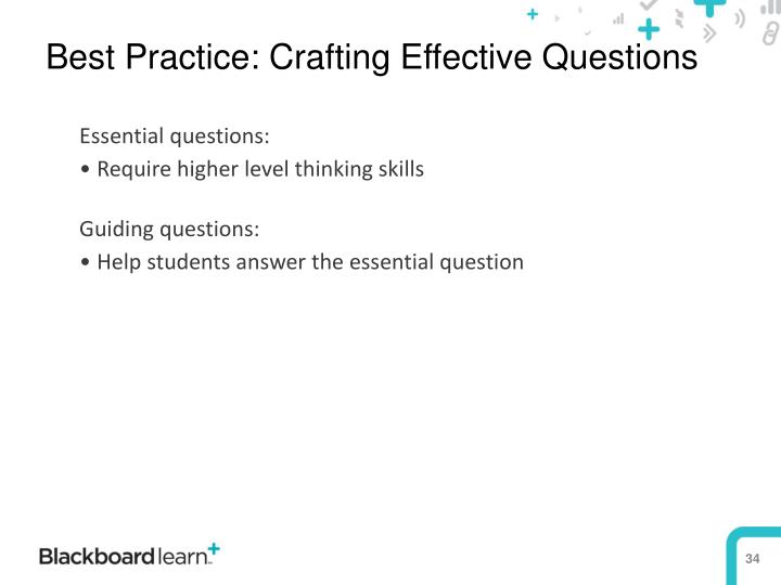 Best Practice: Crafting Effective Questions