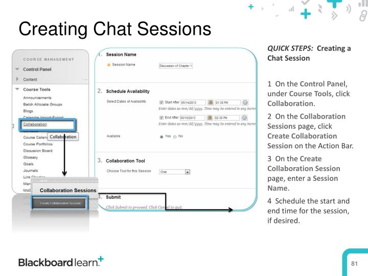 Creating Chat Sessions