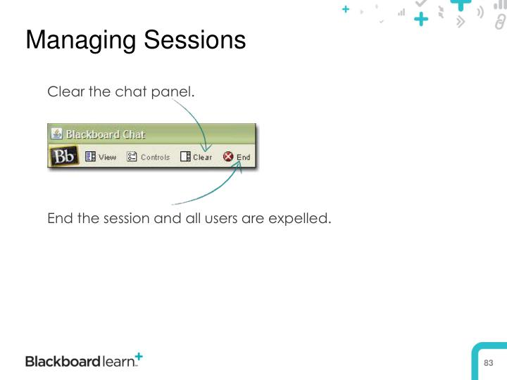 Managing Sessions