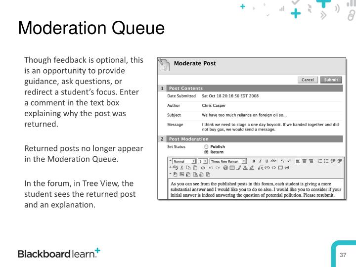 Moderation Queue