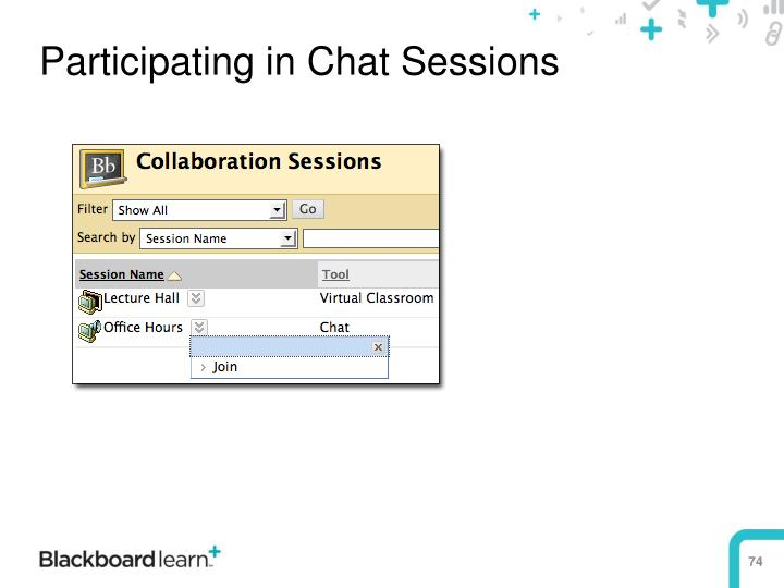 Participating in Chat Sessions