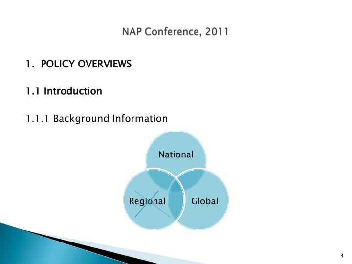 Nap conference 20111