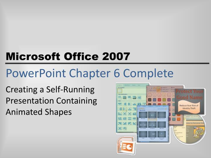PowerPoint Chapter 6 Complete